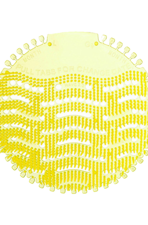 Urinal Screen Yellow Lemon by Ardrich Adsan