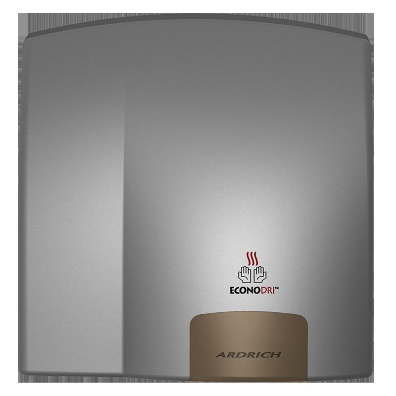 Ardrich Hand Dryer A256PS EconoDri Silver
