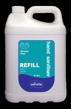 Alcohol Free Hand Sanitiser Ardrich Aerelle 5L