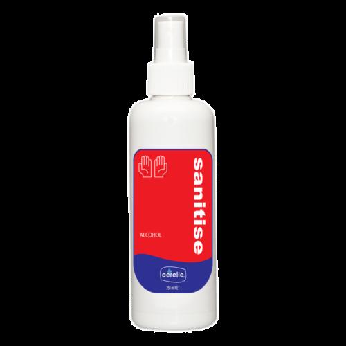 Alcohol Hand Sanitiser Spray Ardrich Aerelle 250ml